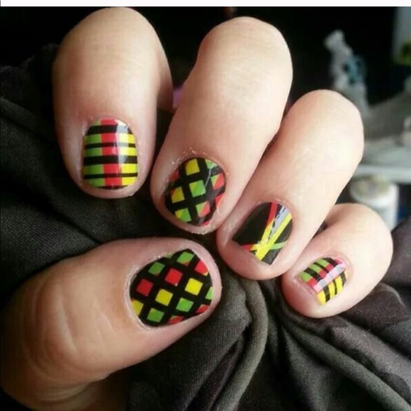 Jamberry Other - 3/$10 Regage-a-go-go Jamberry Nail Wrap Manicure